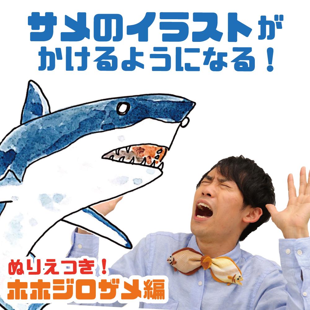 簡単 サメ イラスト